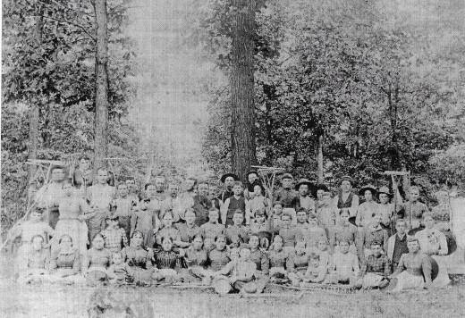 Group Shot of the Ora Labora Colony