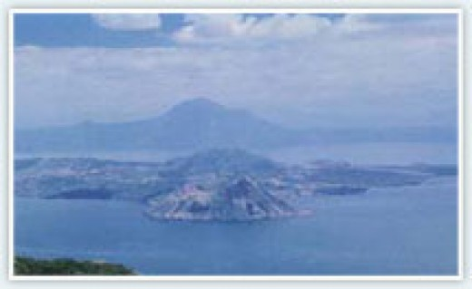 The Taal Volcano in Tagaytay (http://www.tagaytay.com/visit.htm)