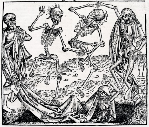 The plague as depicted by Michael Wolgemut