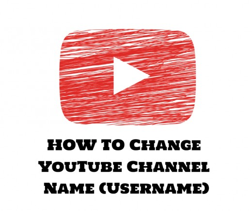 How To Change Your Youtube Account Channel Name Hubpages