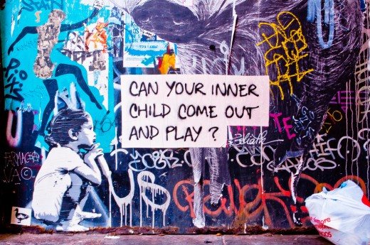 Let your inner child come out and play.