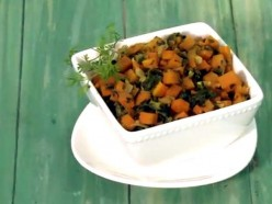 How to Make Carrot Methi Sabzi