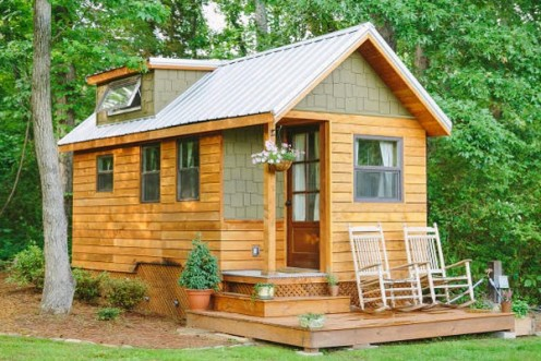 A tiny country home may just be the right fit for you.