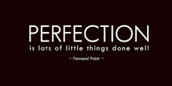 The Irresistible Futility of Perfectionism