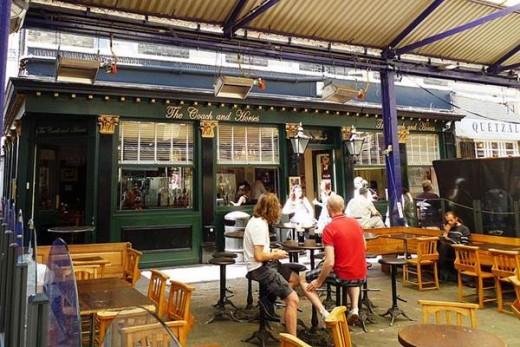Pub at Greenwich Market