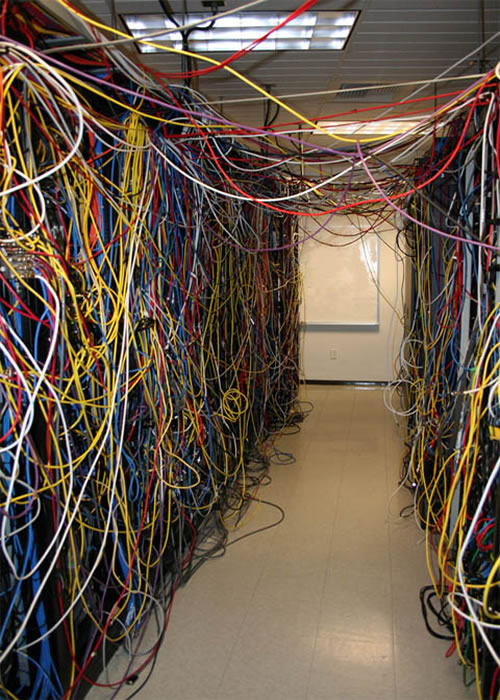 The Expert always has a rats nest of wires and claims to be a Network Engineer.