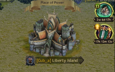 Level your palace and your town in this MMO strategy empire building app game.
