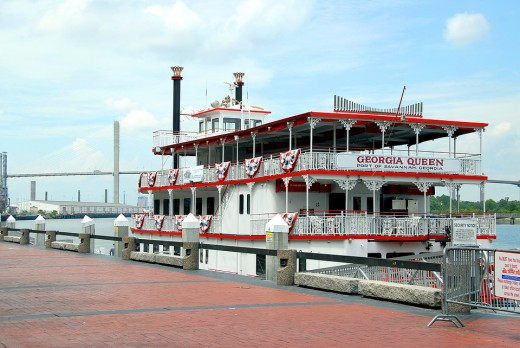 Riverboat tours are popular.