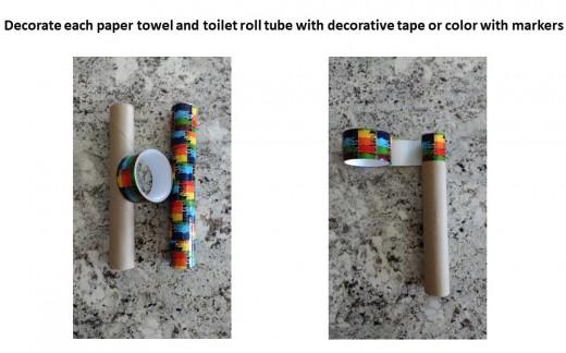 Decorate tubes