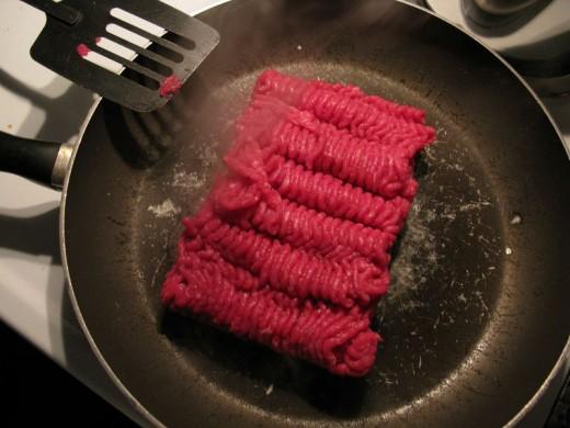 Ground beef is very versatile.