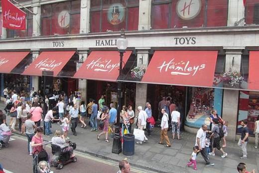 Hemleys toy store