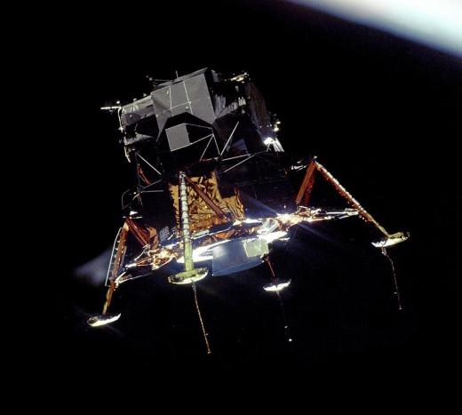 Lunar Module the Eagle.