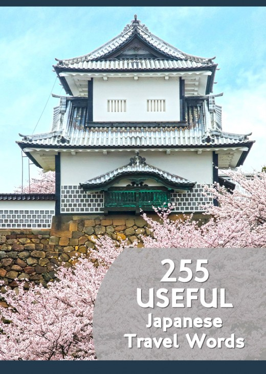 255 useful Japanese travel words to equip yourself with when visiting Japan.