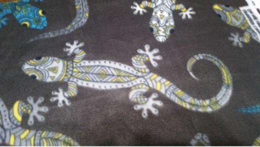 Salamander print