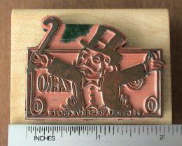 monopoly man custom stamp actual width