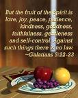 Fruit of the Spirit (Gal 5:22-23)