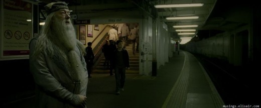 The film's decision to finally feature scenes in more recognisable locations not only brings a sense of realism to the film but also hints at the stakes being played for.