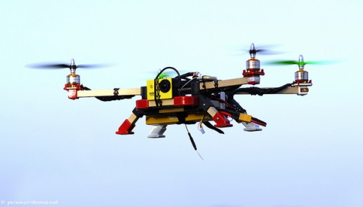 DIY Quadcopter - You can build one yourself.