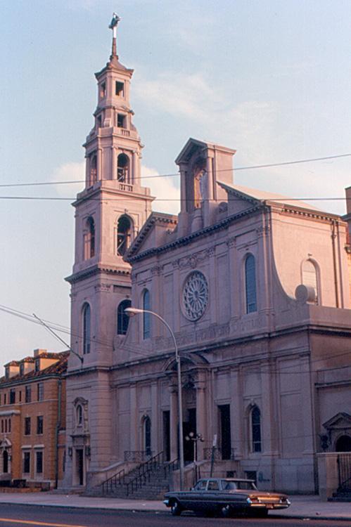 Regina Pacis Church. It was designated a basilica in 2012.