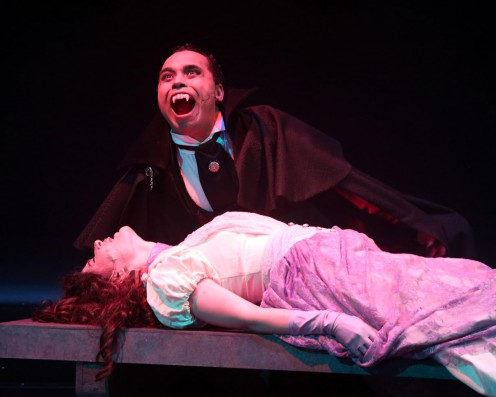 Scene from a College Production of Dracula