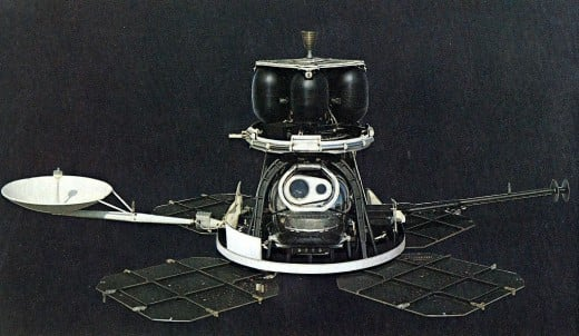 Historic Lunar Orbiter, ready to launch and take photos.