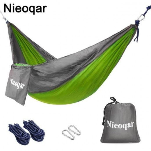 A covered hammock is a great option for quick, ready made shelter that is easy to pack.