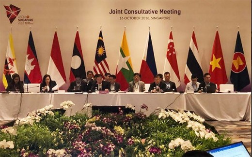 Joint Steering Committee Meeting (15-16 October, 2018 in Singapore) in preparation for 33rd ASEAN Summit and related conferences