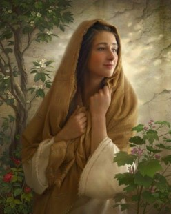 When I was Visited by Mary