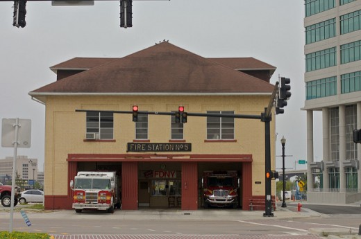 Fire stations are another designated site for safe surrender of newborns