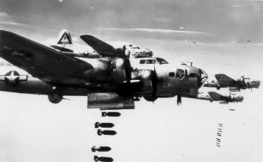 B-17s in the 1940s