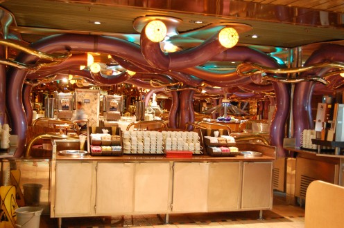 Brasserie Bar & Grill Buffet on Carnival Inspiration