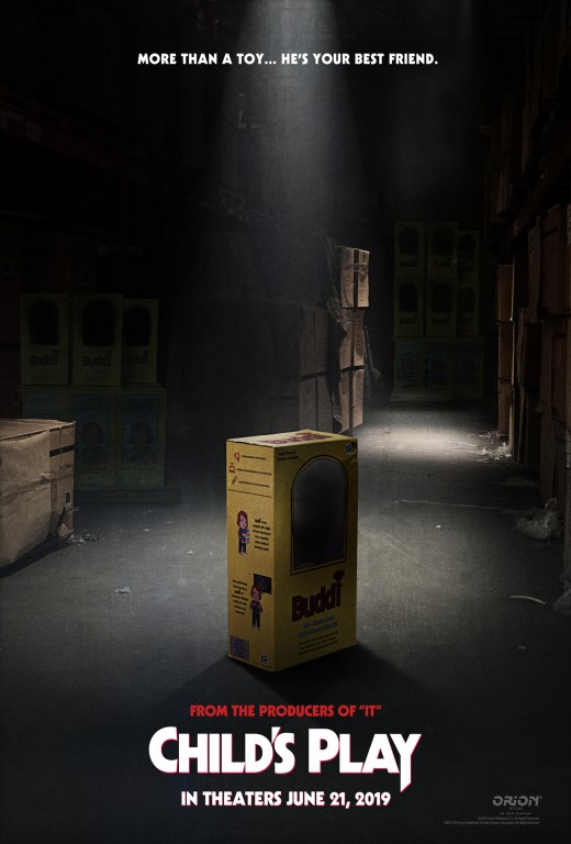 Poster for new Child's Play reboot