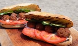 Meatball Sandwich with Tzatziki