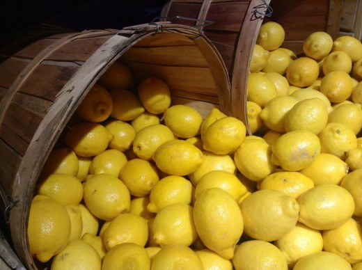 Lemons are considered sacred to the moon.