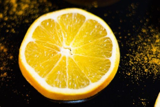 Oranges can be used to make the frozen dessert sobert.