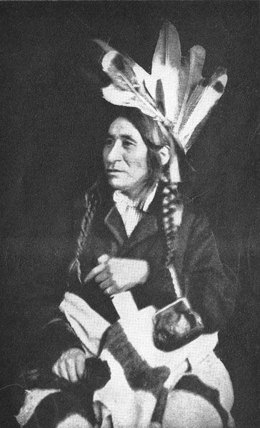 Chief Little Crow of Santee Band, Dakota Nation