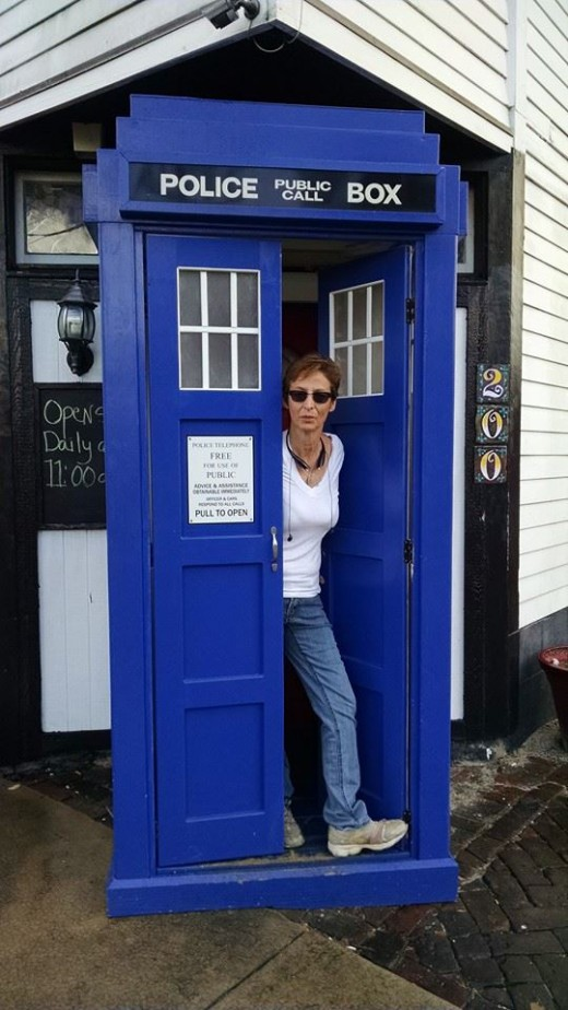 Anchor Pub, NOLA.  Yes, they have a TARDIS