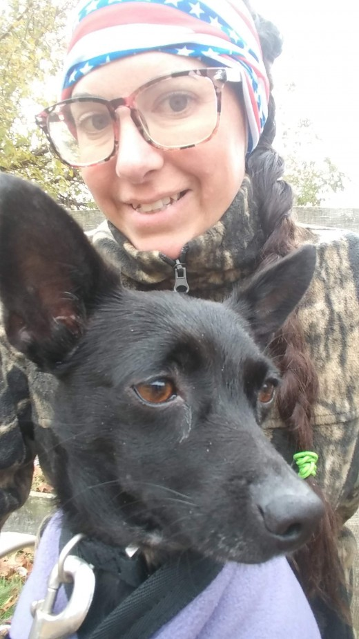 Good thing I have my own farm, because having my dog with me is a non-negotiable!