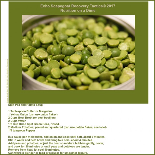 """Recipe provided on a handy take-along (easy save) """"post-it"""" for the reader's convenience."""
