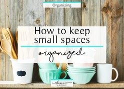 How to Get Organized in our daily life