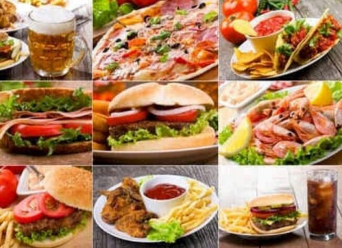 The fast food feast!