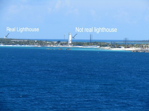 Great Stirrup Cay - across from Coco Cay
