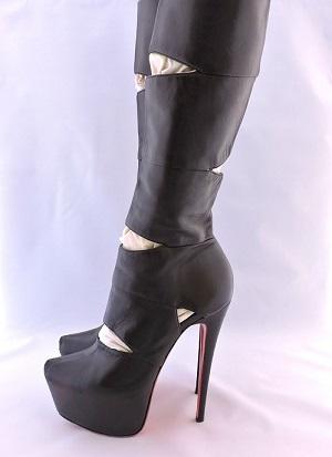 Bandita platform boots