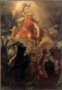 Thor. Attribution: Marten Eskil Winge
