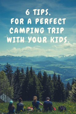 6 Tips for a Perfect Camping Trip With Your Kids