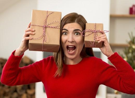 Panicking gift buying
