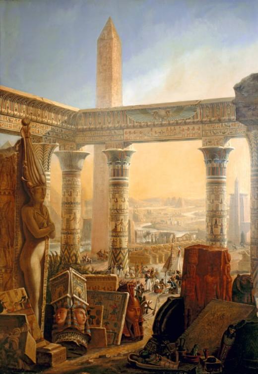From La Description de l'Egypte.