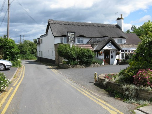 A photograph of the Wagon Wheel Inn. The Pits are situated a little further down the Lane. Source: Peter Whatley via Wikimedia Commons