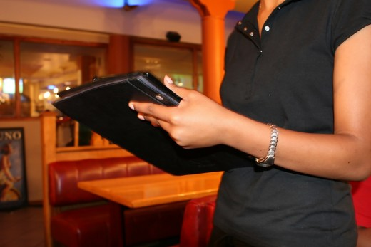 When the server comes to take your order, keep it simple. If you have food allergies or dietary restrictions, plan ahead by contacting the restaurant and asking about the menu.