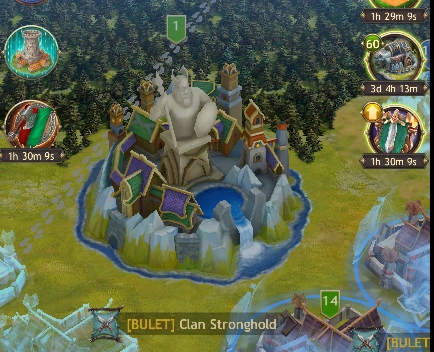 Viking War of Clans Stronghold.